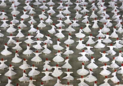 What are Whirling Dervishes and Why are They Whirling?