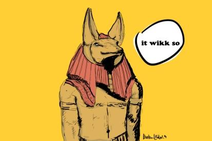 Why do Egyptians talk likethat?