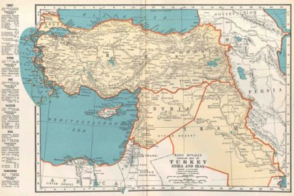 Drawing Borders in the Middle East